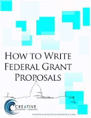 Cover letter for a grant writer